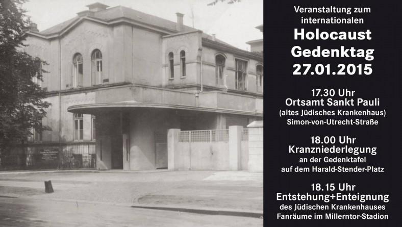 Holocaust Gedenktag am Dienstag, 27.01.2015