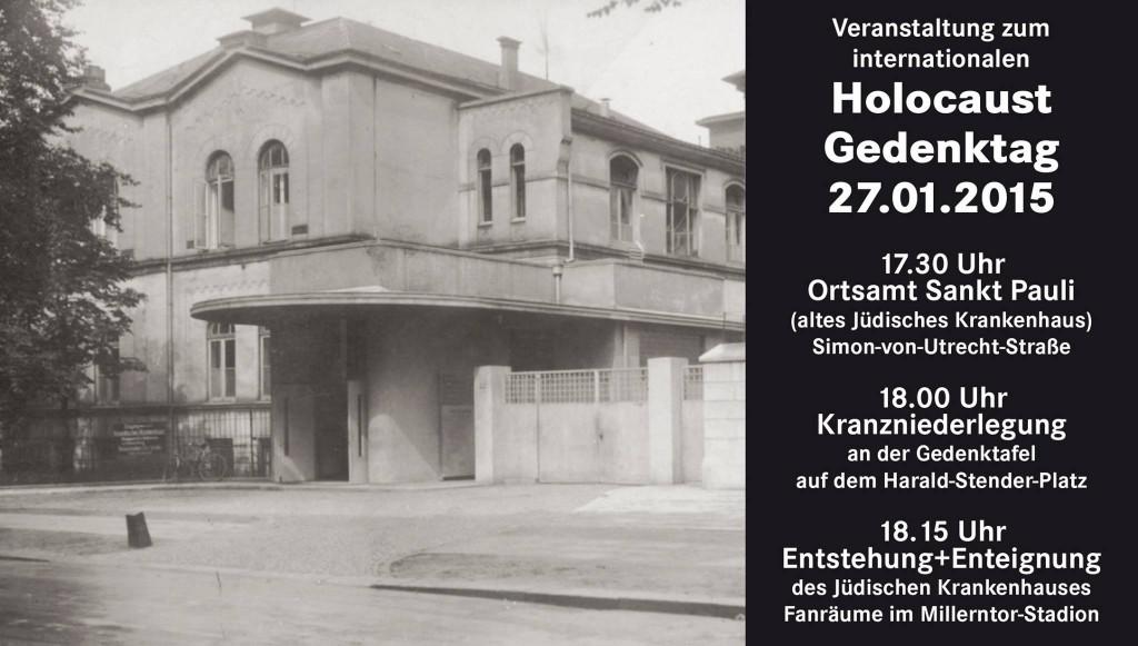 Holocaust Gedenktag Am Dienstag 27012015 Ballkult Ev