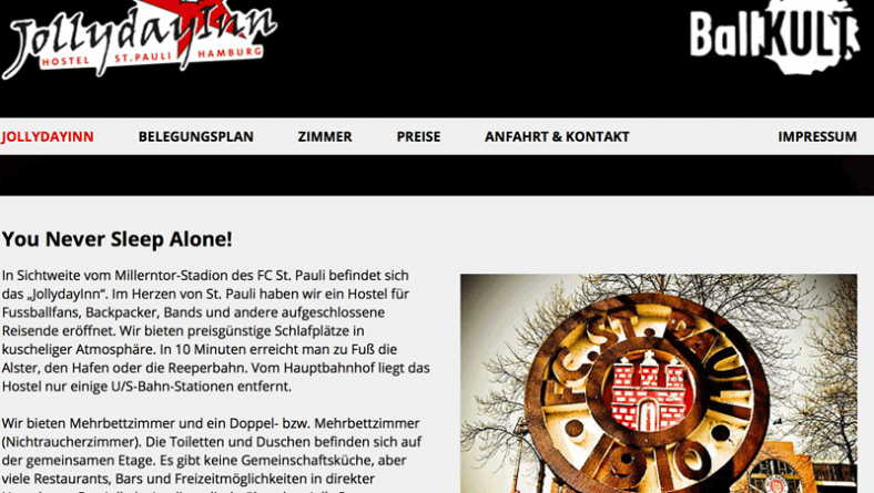 Unser Hostel – JollyDayInn – Webseite endlich fertig!