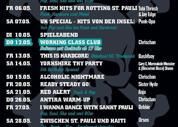 Jolly Roger Programm – Mai 2016
