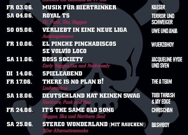 Jolly Roger Programm – Juni 2016