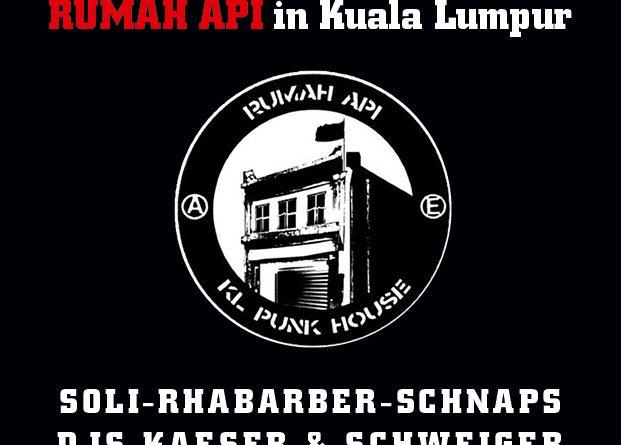 Soliparty für das abgebrannte RUMAH API in Kuala Lumpur –06.08.2016